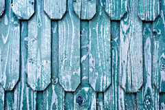 Wooden roof shingles Stock Image