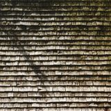 Wooden Roof of Small Church in Austria stock image