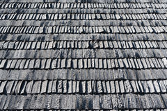 Wooden roof. Stock Photos