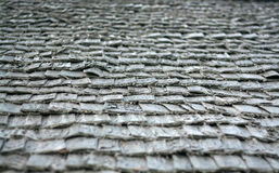 Wooden roof texture Royalty Free Stock Photos