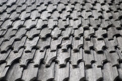 Wooden roof texture Royalty Free Stock Photography