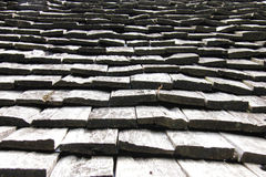 Wooden roof texture. For web background Stock Photography