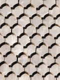 Wooden roof-tiles Royalty Free Stock Image
