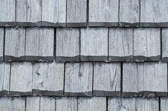 Wooden roof tiles texture Royalty Free Stock Image