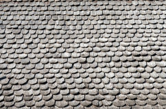 Wooden roof tiles texture Royalty Free Stock Photography
