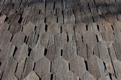 Wooden rooftop Royalty Free Stock Image