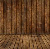 Wooden room royalty free illustration