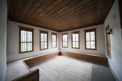 Wooden room Royalty Free Stock Images