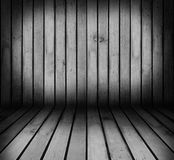 Wooden room Stock Images