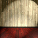 Wooden room Royalty Free Stock Image