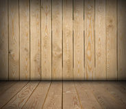 Wooden room Royalty Free Stock Photo