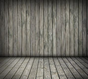 Wooden room. Wooden creative textured interior background Royalty Free Stock Photography