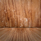 Wooden room Stock Photo