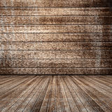 Wooden room. Textured background of wooden room with good texture Stock Images