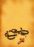 Wooden rosary  Stock Photos