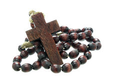 Free Wooden Rosary Stock Image - 34841131