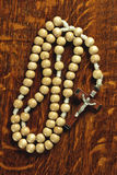 Wooden Rosary Beads Royalty Free Stock Image
