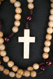 Wooden rosary Royalty Free Stock Image