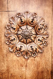 Wooden rose Royalty Free Stock Photography