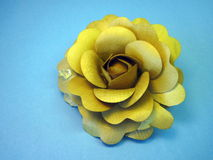 Wooden rose stock images
