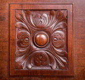 Wooden rosette Royalty Free Stock Photos