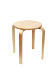 Wooden Round Stool Stock Images