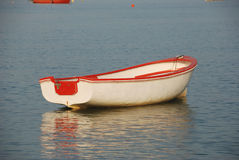Wooden row boat Royalty Free Stock Photos