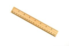 Wooden ruler Stock Images