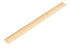 Wooden ruler Stock Photos