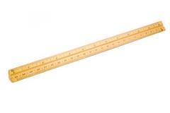 Wooden ruler Stock Photos