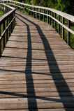 Wooden Runway. Stock Photos