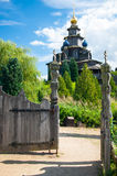 Wooden Russian church Royalty Free Stock Images