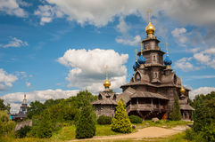 Wooden Russian church Royalty Free Stock Photos