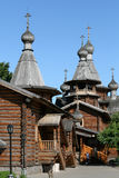 Wooden Russian Orthodox church Royalty Free Stock Image