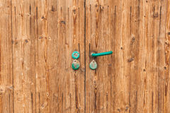 Wooden rustic door Royalty Free Stock Image