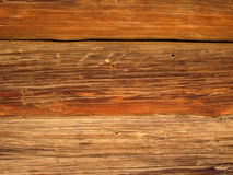 Wooden Rustic Vintage Plank Board Texture Background. Closeup Royalty Free Stock Photo