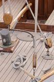 Wooden sailboat royalty free stock photo