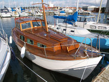 Wooden Sailboat Royalty Free Stock Photography