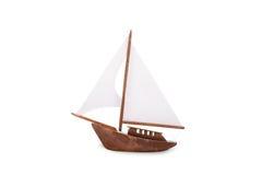 Wooden Sailboat Stock Image