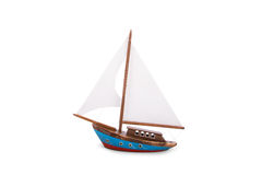 Wooden Sailboat Stock Photos