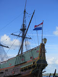 Wooden sailing ship Royalty Free Stock Photography