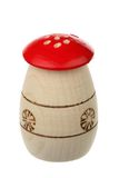 Wooden saltcellar-pepperbox Royalty Free Stock Photo