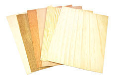 Wooden sample, home improvement Royalty Free Stock Photos