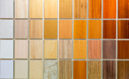 Wooden samples Stock Photos