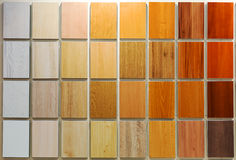 Wooden samples Royalty Free Stock Photos