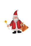 Wooden Santa figure Royalty Free Stock Photography