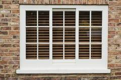 Wooden sash window Stock Photography