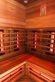 Wooden Sauna interior Royalty Free Stock Photos