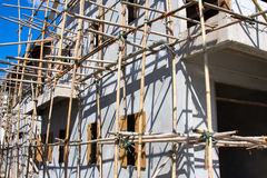 Wooden Scaffolding , Thailand Stock Images