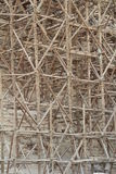 Wooden scaffolding Stock Photography
